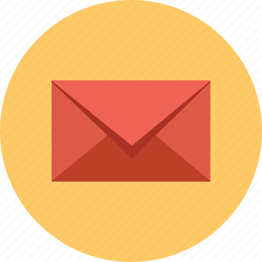 closed, email, envelope, mail icon