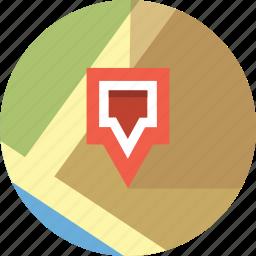 locate, map, pin, site icon