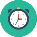 alarm, clock, time, timing, wait icon