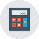 calculator, math, school, tools icon