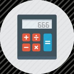 calculator, math, school, tools icon