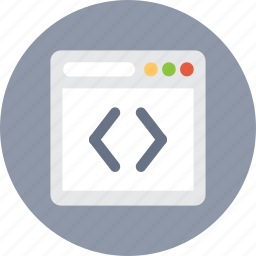 browser, code, develop, navigator, programming icon