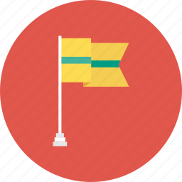 flag, location, pin, sign, site icon
