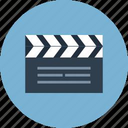 clip, directing, director, film, movie, video icon