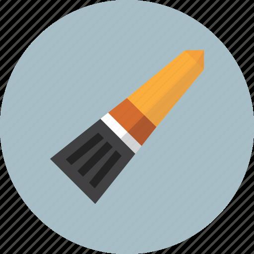 brushe, draw, paint, school, tools icon
