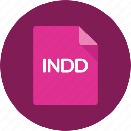 document, extension, file, format, indesign icon