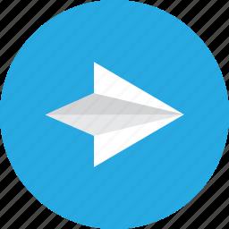 arrow, next, previous, right icon