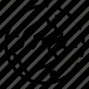 thin, fist, vector, circle, yul911 icon