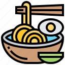 asian, ramen, noodle, food, meal icon