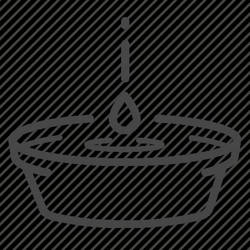 humidity, leak, rain, water, wet icon