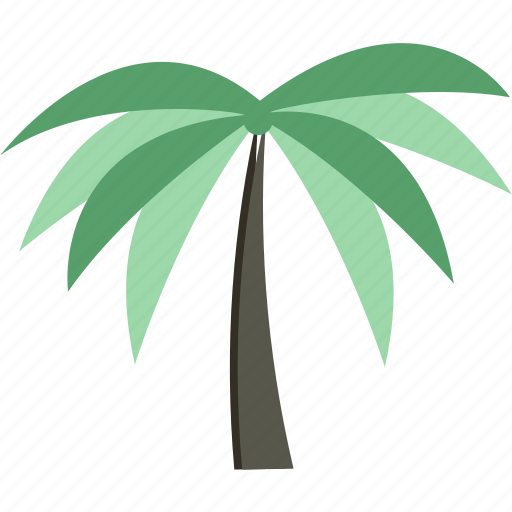 Forest, palm, rain, tree icon - Download on Iconfinder