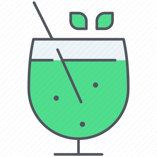 alcohol, birthday, celebration, cocktail, drink, mochito, party icon