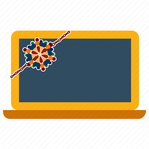 bandhan, festival, india, laptop, rakhi, raksha, tablet icon