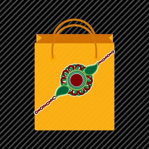 bag, bandhan, festival, india, rakhi, raksha, shopping icon
