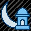 ramadan, crescent, moon, lantern, mosque, eid, mubarak