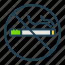no, smoking, prohibited, fasting