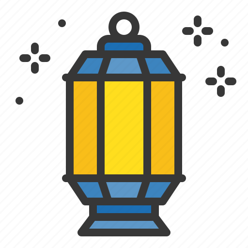 abrahamic, islam, lamp, lantern, ramadan, religion icon