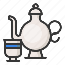 abrahamic, cup, islam, ramadan, religion, tea pot icon