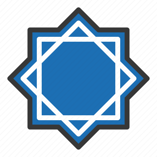abrahamic, islam, ramadan, religion, rub el hizb, six point star, star icon