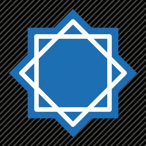 abrahamic, islam, ramadan, religion, six point star, star icon