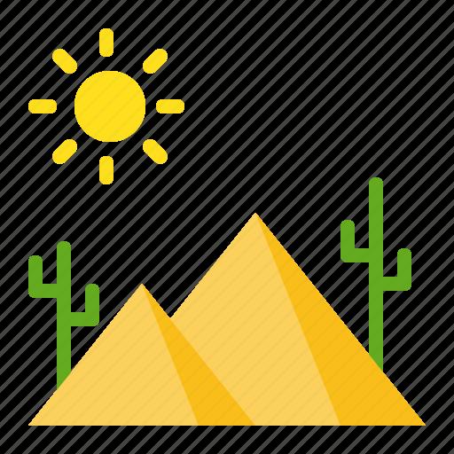 abrahamic, desert, islam, pyramid, ramadan, religion icon