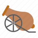 abrahamic, cannon, islam, ramadan, religion icon