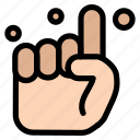 belive, hand, one, pray icon