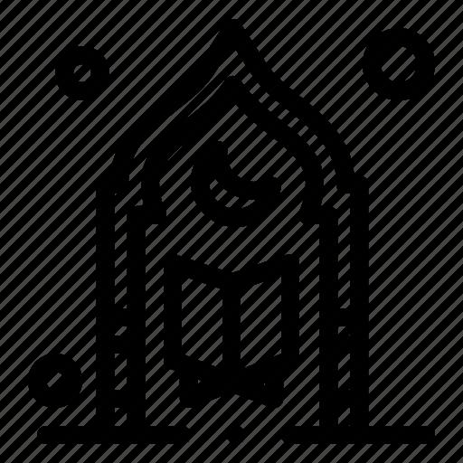 Islam, moon, mosque, muslim, prayer icon - Download on Iconfinder