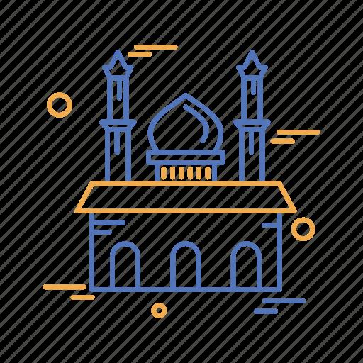 islamic, month, mosque, muslim, ramadan icon
