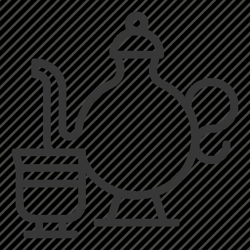 abrahamic, cup, islam, ramadan, religion, tea pot icon