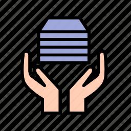 acception, donate, donation, zakat icon