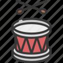 drums, musical, instrument, festivities