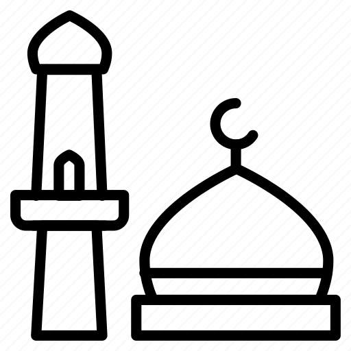 dome, minaret, mosque, tower icon