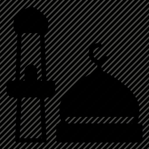 dome, eid, great, mosque, ramadan, shalat icon