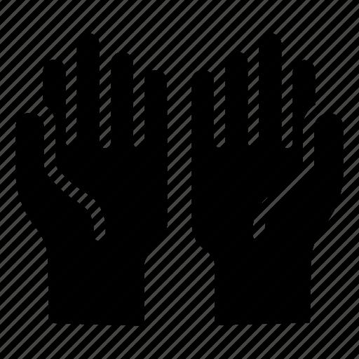 hand, islam, pray, prayer icon