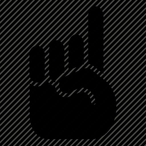 finger, index, islam, tauhid icon