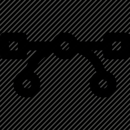 design, editing, move, shape, tool, vectors icon