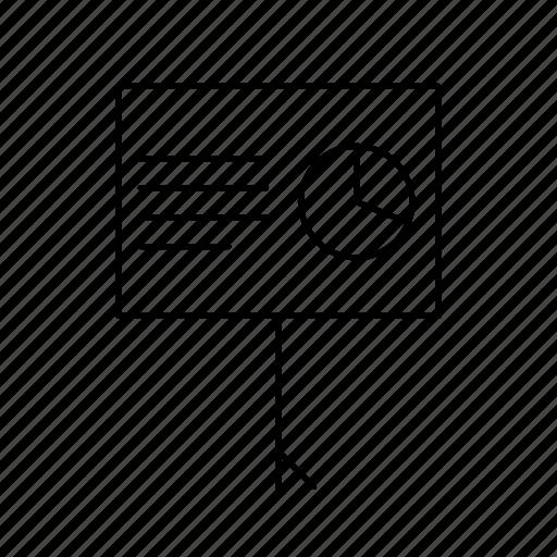 analysis, business icon
