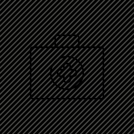 Medical, medical briefcase, medicine icon - Download on Iconfinder