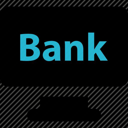 bank, pc, website icon
