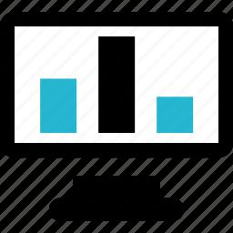 bar, finance, online icon
