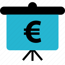 euro, explore, online icon
