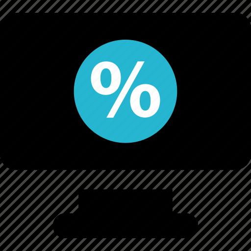 explore, interest, percent icon
