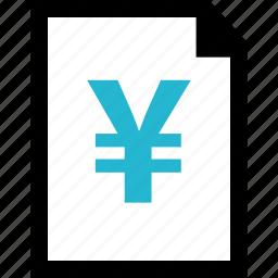 explore, page, yen icon