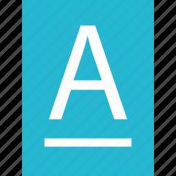 a, edit, online, web icon