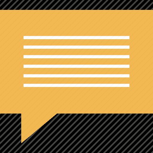 bubble, chat, online, web icon