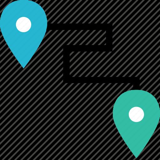 destination, online, web icon