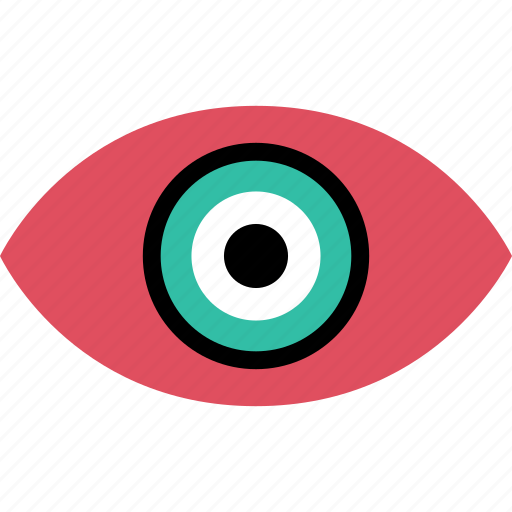eye, find, look, online, web icon