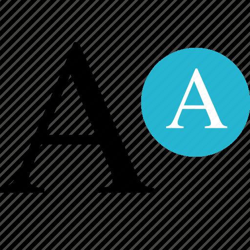 a, edit, letter, online, web icon