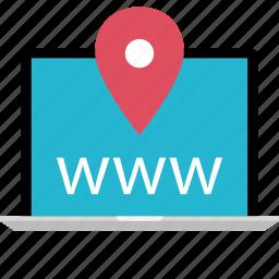 direction, online, web, www icon